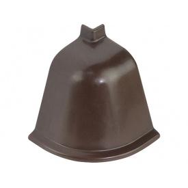 Угол к плинтусу Rehau 118 90* 96102 Сепия коричневая-внешний