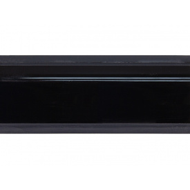 Плинтус Rehau 118 98104 Черный глянец мм 4200