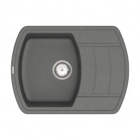 Кухонная Мойка Vankor Norton Nmp 02.67 Gray + Сифон Vankor