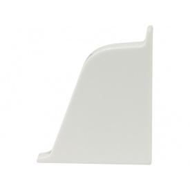 Заглушка к плинтусу 118 Rehau Белый- правая 91115