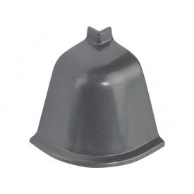 Угол к плинтусу Rehau 118 90* 98151 Темно-серый-внешний
