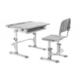 Комплект парта + стілець трансформери DISA GREY