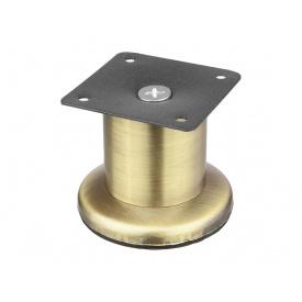 Опора нерегулируемая цилиндрическая GIFF Base 45/60 античная бронза