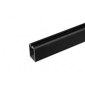 Штанга для тремпелей Slider А 29-29 мм 3000 черный матовый