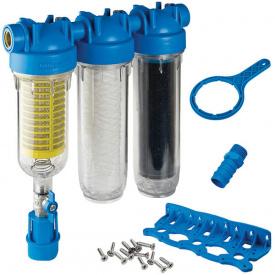 Фильтр для воды Atlas Filtri HYDRA RAINMASTER TRIO 1/2 (латунь) + картриджи RAH, FA, LA KIT (RA6095214)