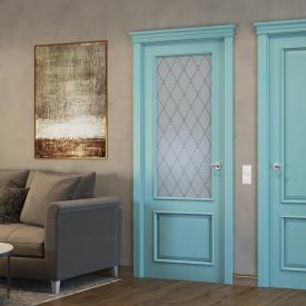 Двері Папа Карло Art Deco ART-02 бевелс/оксфорд