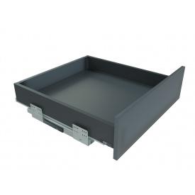 Выдвижной ящик с отталкивателем GIFF PRIME FlatBox мм 500 мм 84 графит