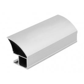 Вертикальный открытый профиль Slider Avenue серебро мм 5200