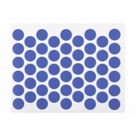 Заглушка конфирмата самоклеющаяся Weiss d=14 синий 50 шт 9023