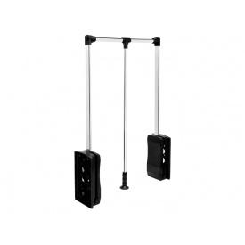 Лифт-пантограф GIFF 450-600 нагрузка 10 кг Soft stop хром/черный