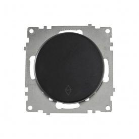 Переключатель одинарный, цвет чёрный (серия Florence) арт.1Е31401303