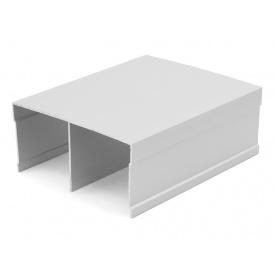 Направляющий профиль верхний Slider серебро мм 5000