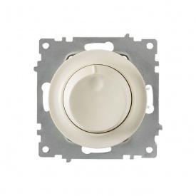 Светорегулятор 600 W для ламп накаливания и галогенных ламп, цвет бежевый (серия Florence) арт.1Е42001301