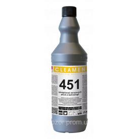 Устранение известкового налета из нержавеющей стали CLEAMEN 451 - 1 л