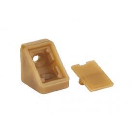 Куточок меблевий одинарний пластиковий GIFF бук баварія