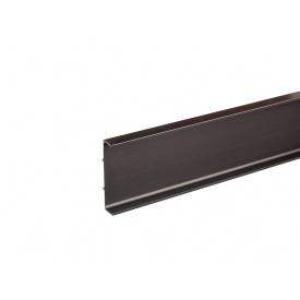 Профиль Gola С-образный универсальный Volpato Clap`n`FIT мм 4200 венге браш 80/G39