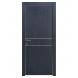Дверь RODOS Modern Flat-01 Alum глухая