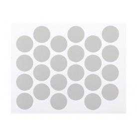 Заглушка минификса самоклеющаяся Weiss d=20 серый 24 шт 288