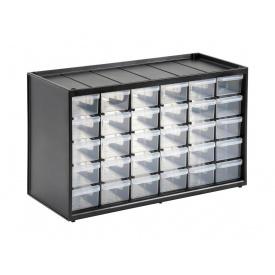 Ящик-органайзер для инструментов STANLEY вертикальный 36.5x15.5x22.5 см 30 секций 1-93-980