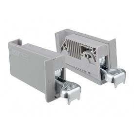 Шкафодержатель регулируемый GIFF PRIME серый комплект 2 шт