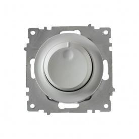 Светорегулятор 600 W для ламп накаливания и галогенных ламп, цвет серый (серия Florence) арт.1Е42001302