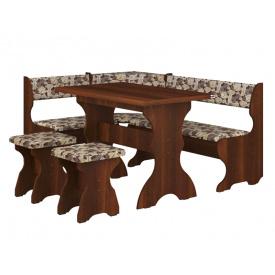 Кухонний куточок Принц з розкладним столом і табуретами