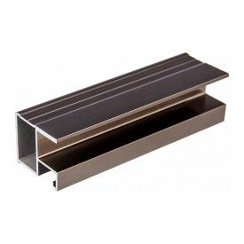 Профиль вертикальный Slider Modus L5300 бронза браш
