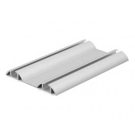 Направляющий профиль нижний Slider серебро мм 5000