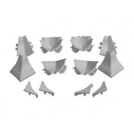 Набор фасонных элементов Rehau Серый Compact-line 98102