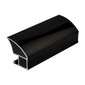 Вертикальный открытый профиль Slider Avenue венге глянец мм 5200