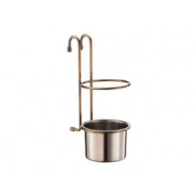 Чаша для кухонних аксесуарів Lemax бронза YJ-G017E