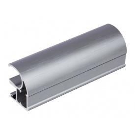 Вертикальный открытый профиль Slider Premium графит мм 5200