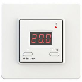 Терморегулятор для теплого пола terneo st, белый