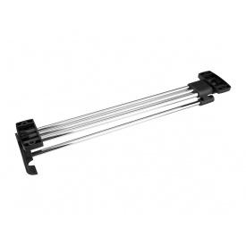Вешалка выдвижная Т1 GIFF мм 400 никель/черный