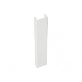 Заглушка к цоколю Volpato мм 120 белый глянец