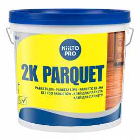 Клей двухкомпонентный полиуретановый Kiilto 2K Parquet 5 кг+0,55 кг