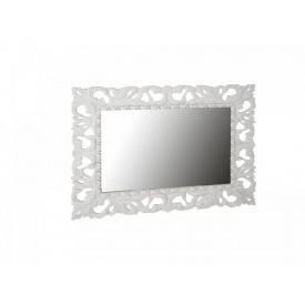 Зеркало Империя 100х80 Глянец белый