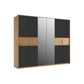 Шкаф Рамона шестидверный с зеркалами