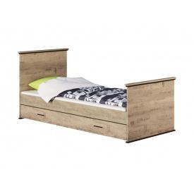 Ліжко 90х200 Палермо дуб сонома