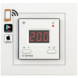 Терморегулятор для теплого пола terneo ax unic, белый