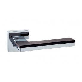 Дверна ручка SYSTEM LARISSA хром/чорний