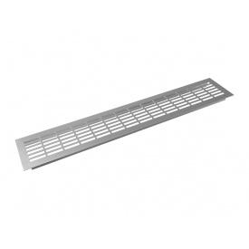Заглушка вентиляционная GIFF L480 H80 алюминий
