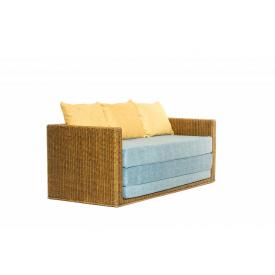Диван-кровать Уго с голубым матрасом