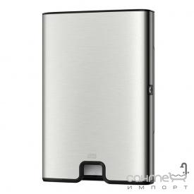 Диспенсер для бумажных полотенец Tork Xpress Multifold 460004 нержавеющая сталь