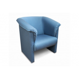 Кресло Sovalle Манчестер рогожка Голубой (0166-01)