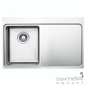 Кухонна мийка Ukinoх Micro MMP 780.500 GT 10K полірована левосторонняя
