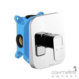 Прихований змішувач для душу з перемикачем R-Box Ravak Collection TD 066.00 X070071 хром