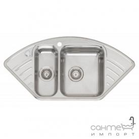 Кухонна мийка, інтегрований монтаж Reginoх Empire RIGHT (правобічна) Нержавіюча Сталь