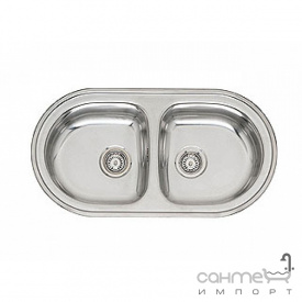 Кухонна мийка, виразний стандартний монтаж Reginoх OE 935 DA Нержавіюча Сталь