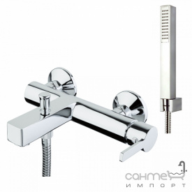 Смеситель для ванны с душевым гарнитуром Fiore Katana 77 CR 7550 хром